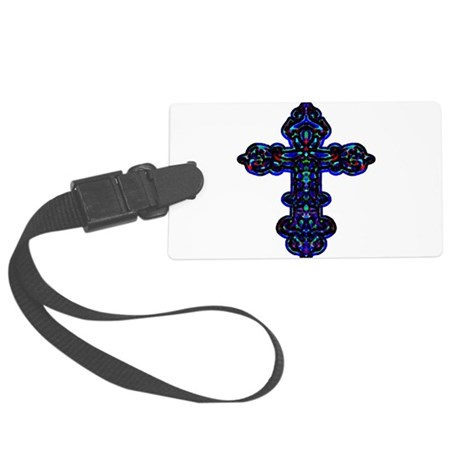 cross26c.png Large Luggage Tag