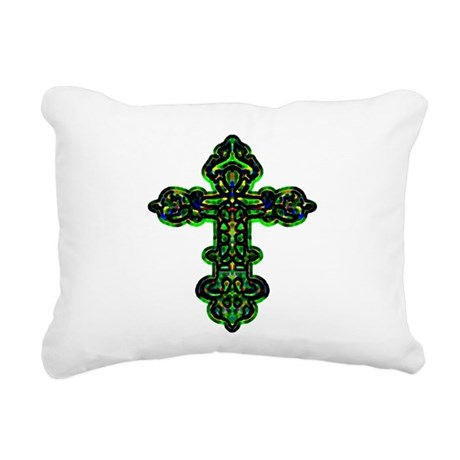cross26a.png Rectangular Canvas Pillow