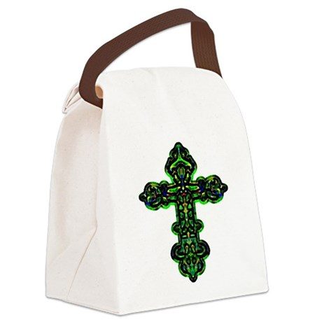 cross26a.png Canvas Lunch Bag