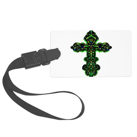cross26a.png Large Luggage Tag