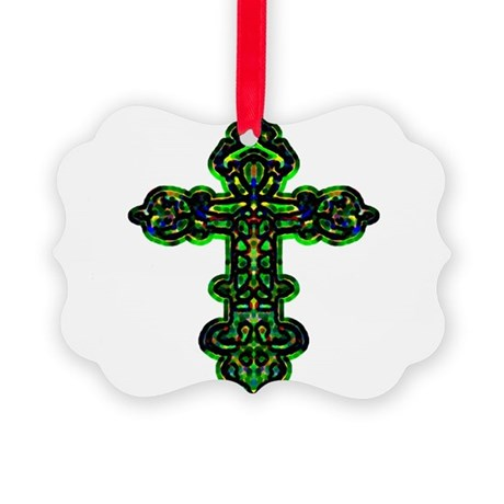 cross26a.png Picture Ornament