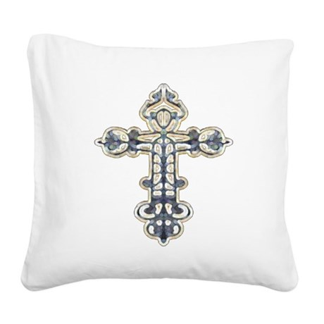 cross262.png Square Canvas Pillow