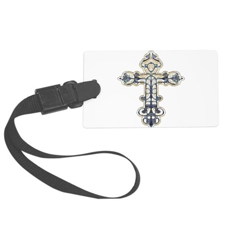 cross262.png Large Luggage Tag