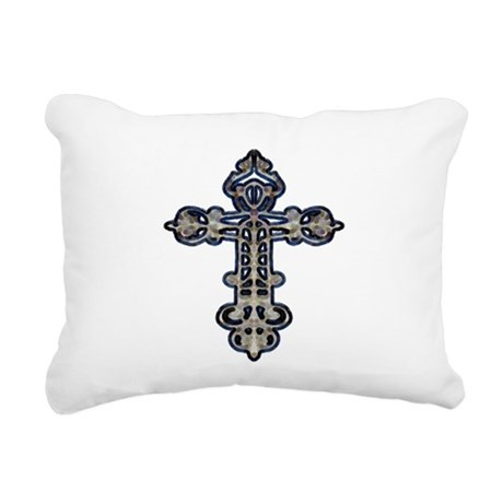 cross26.png Rectangular Canvas Pillow