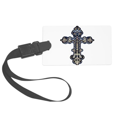 cross26.png Large Luggage Tag