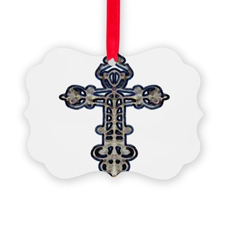 cross26.png Picture Ornament