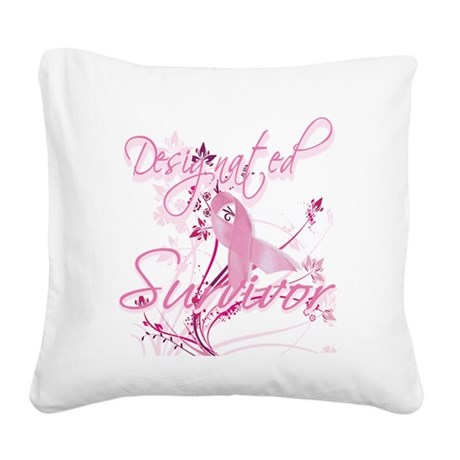 designated9.png Square Canvas Pillow