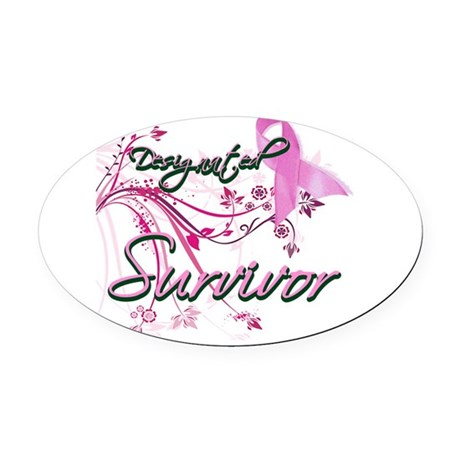 designated2.png Oval Car Magnet