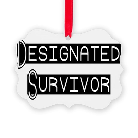 designated survivor Picture Ornament