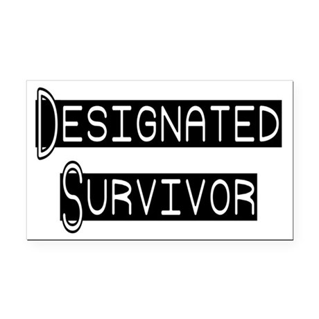 designated survivor Rectangle Car Magnet