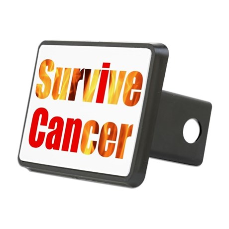 Survive Cancer Rectangular Hitch Cover