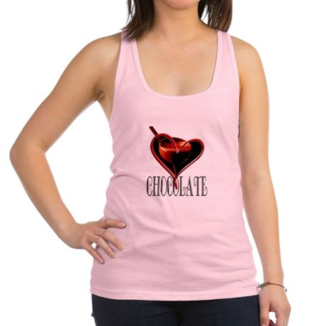 CHOCOLATE Racerback Tank Top