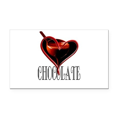 CHOCOLATE Rectangle Car Magnet