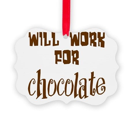 chocolate10.png Picture Ornament