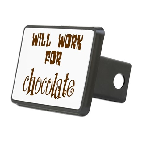 chocolate10.png Rectangular Hitch Cover