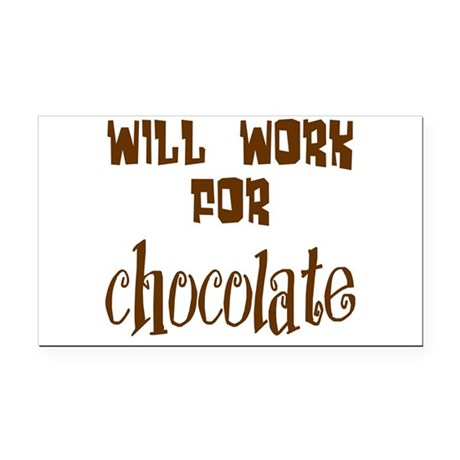 chocolate10.png Rectangle Car Magnet
