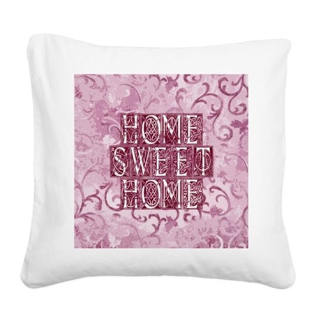 homesh3d.jpg Square Canvas Pillow