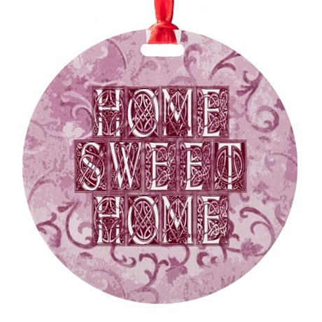 homesh3d.jpg Round Ornament