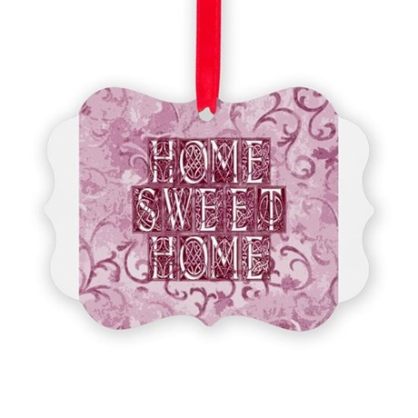 homesh3d.jpg Picture Ornament