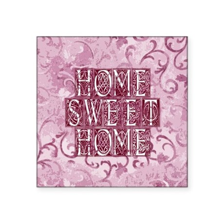 "homesh3d.jpg Square Sticker 3"" x 3"""