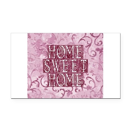 homesh3d.jpg Rectangle Car Magnet