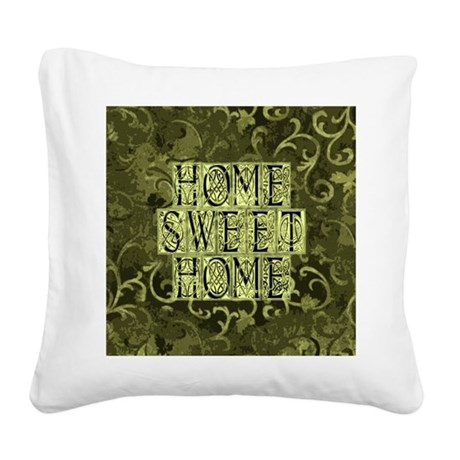 homesh3b.jpg Square Canvas Pillow