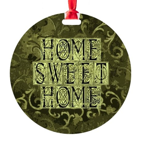 homesh3b.jpg Round Ornament