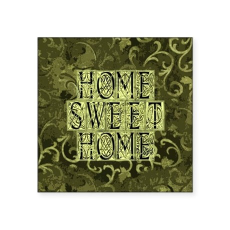 "homesh3b.jpg Square Sticker 3"" x 3"""