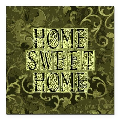 "homesh3b.jpg Square Car Magnet 3"" x 3"""