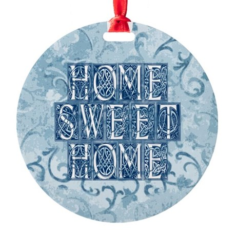 homesh3.jpg Round Ornament
