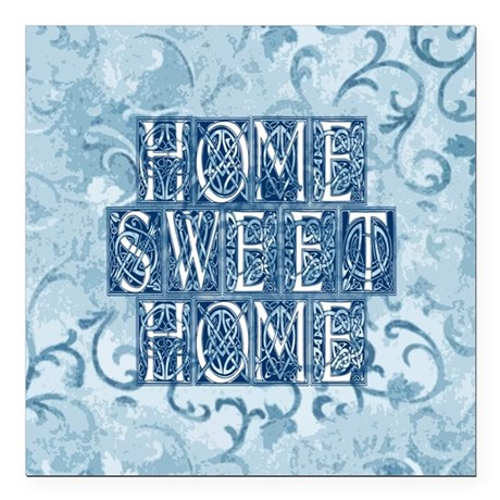 "homesh3.jpg Square Car Magnet 3"" x 3"""