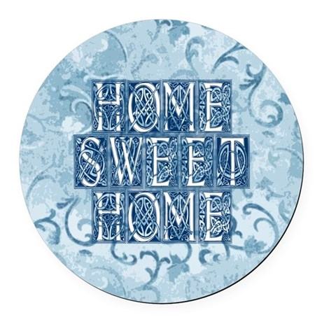 homesh3.jpg Round Car Magnet