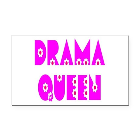 dramaqueen.png Rectangle Car Magnet