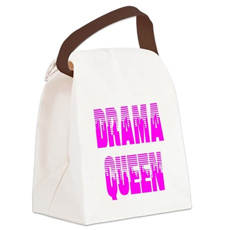 dramaqueen7.png Canvas Lunch Bag