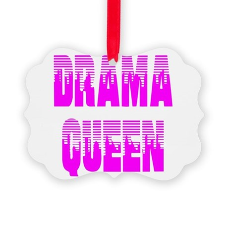 dramaqueen7.png Picture Ornament