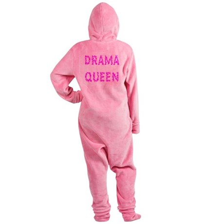 dramaqueen5.png Footed Pajamas