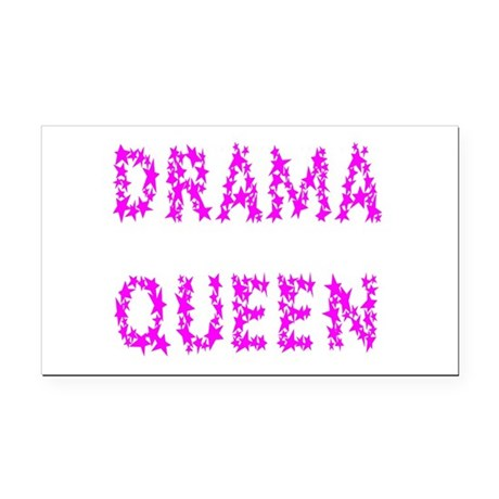 dramaqueen5.png Rectangle Car Magnet