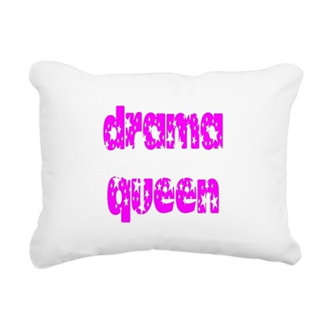 dramaqueen3.png Rectangular Canvas Pillow