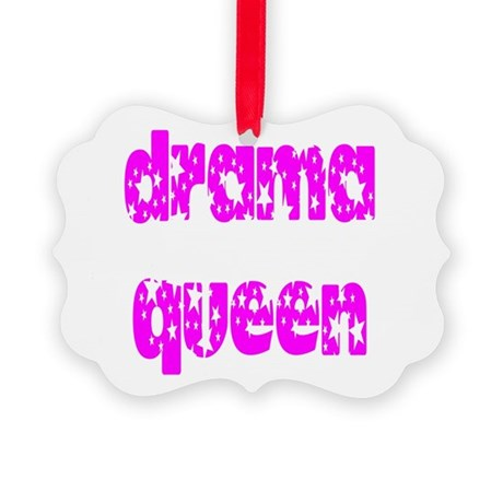 dramaqueen3.png Picture Ornament