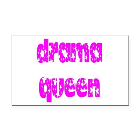 dramaqueen3.png Rectangle Car Magnet