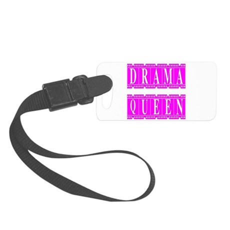 dramaqueen2.png Small Luggage Tag