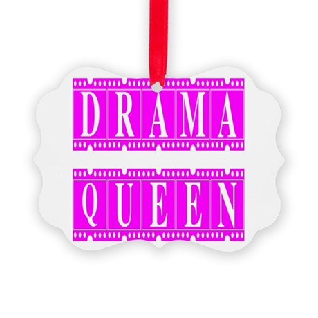 dramaqueen2.png Picture Ornament