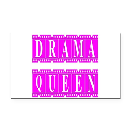 dramaqueen2.png Rectangle Car Magnet