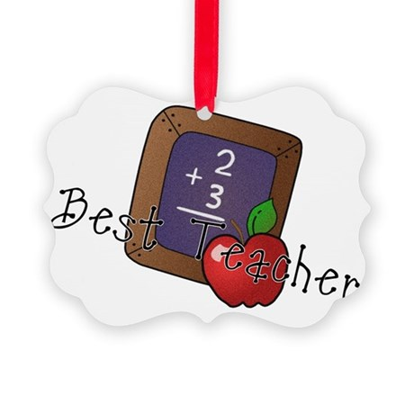besteacher.png Picture Ornament
