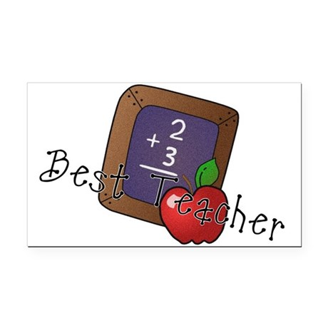 besteacher.png Rectangle Car Magnet