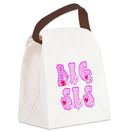 bigsis1a.JPG Canvas Lunch Bag