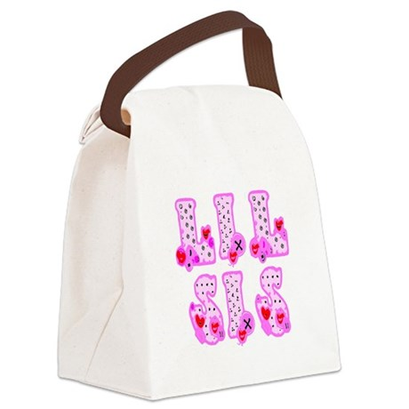 lilsis1.JPG Canvas Lunch Bag