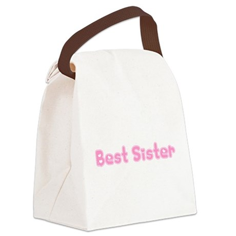 bestsister3.png Canvas Lunch Bag