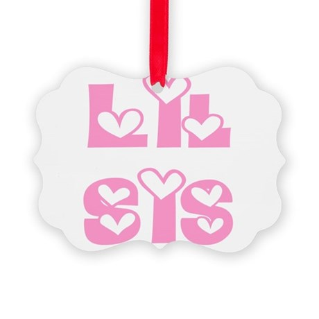 lilsis.png Picture Ornament