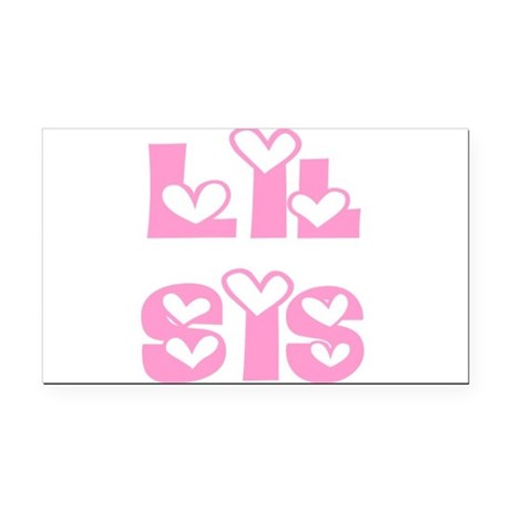 lilsis.png Rectangle Car Magnet